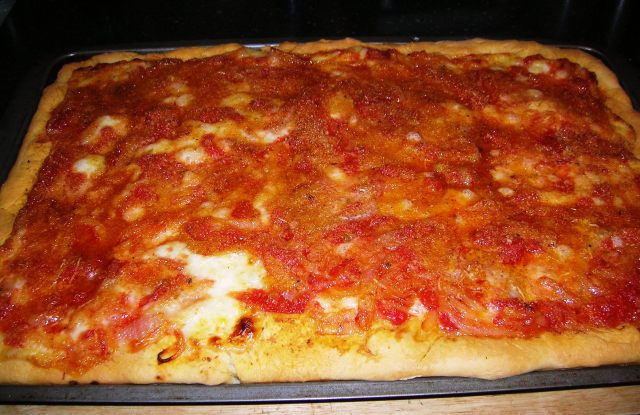 Sicilian Pizza Cooking Italian Comfort Food