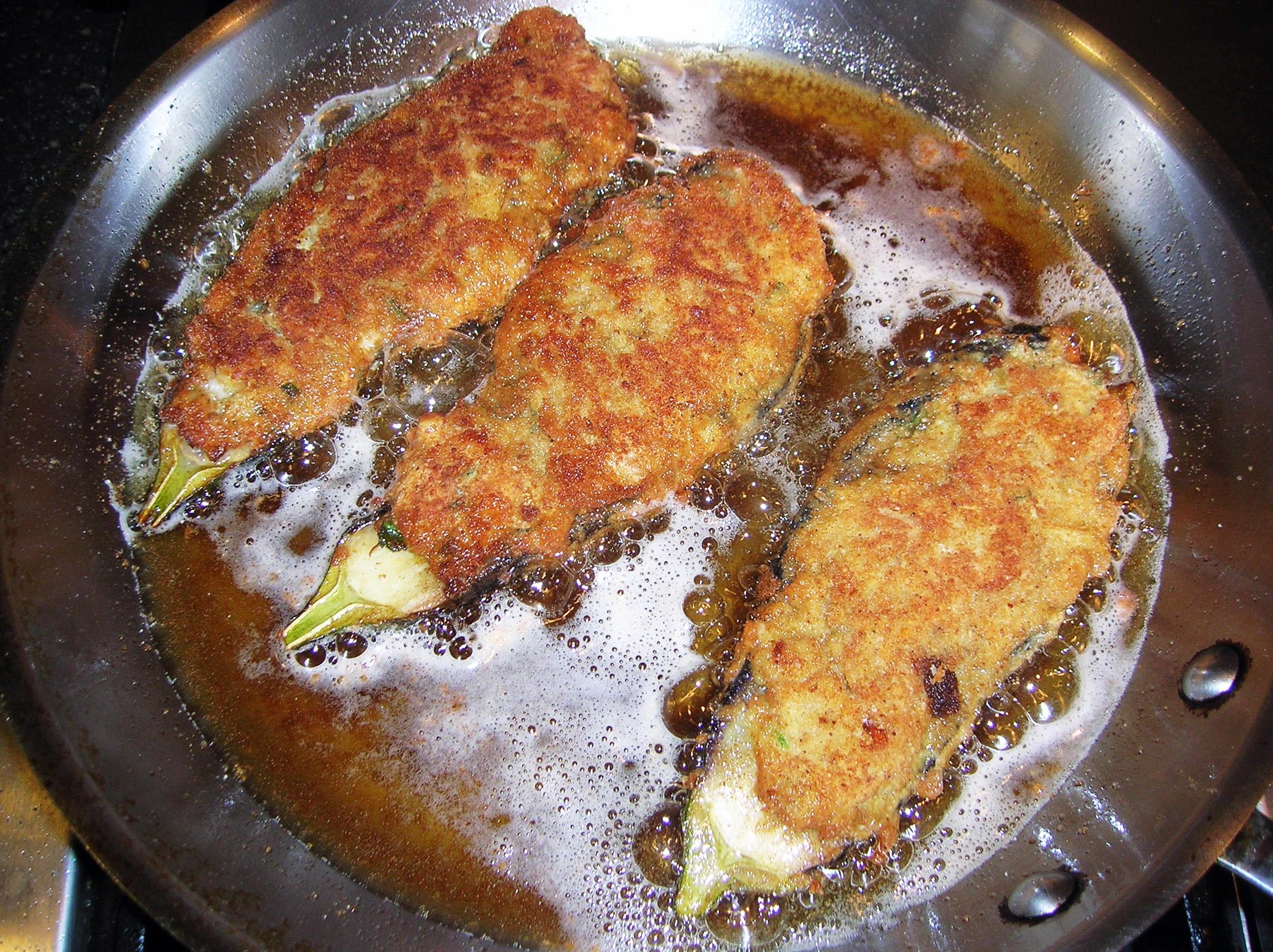Fried Eggplant With Lemon Wedges Recipes — Dishmaps
