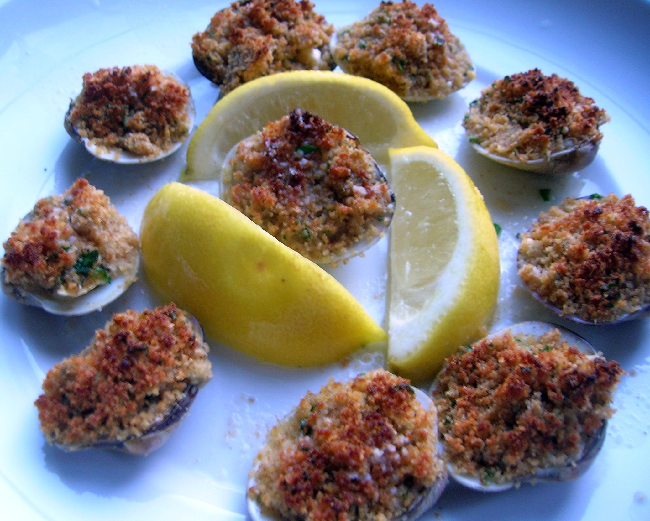 Baked Clams Oreganata 1 Cooking Italain Comfort Food
