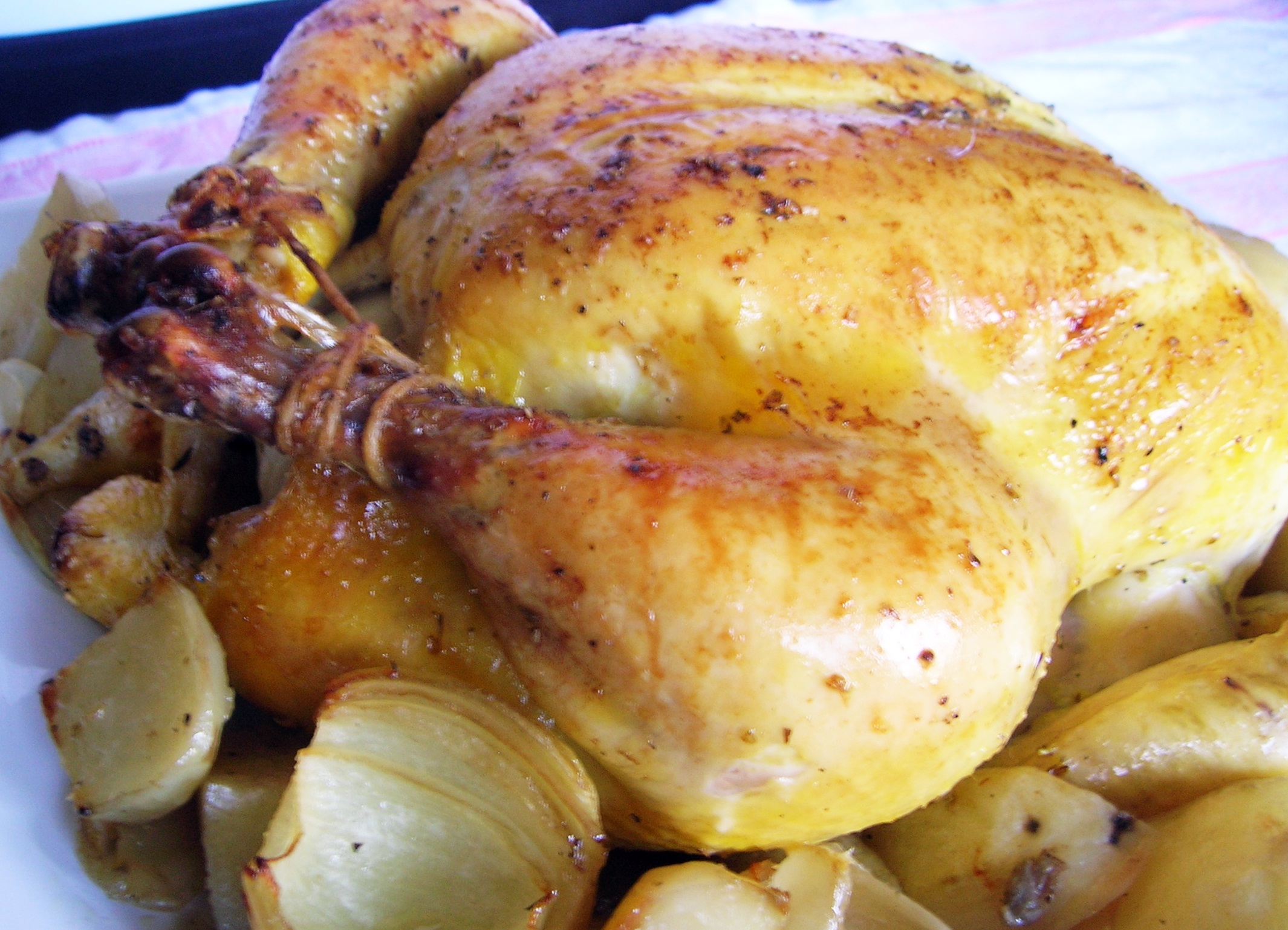 Classic Sunday Italian Roast Chicken Cookingitaliancomfortfood