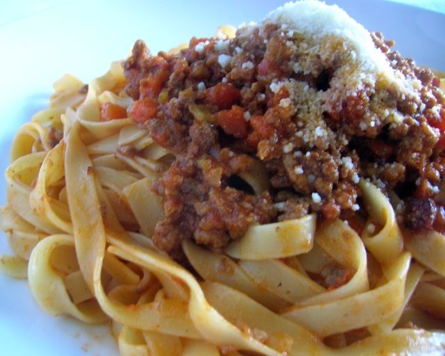 Pasta Bolognese Cooking Italian Comfort Food