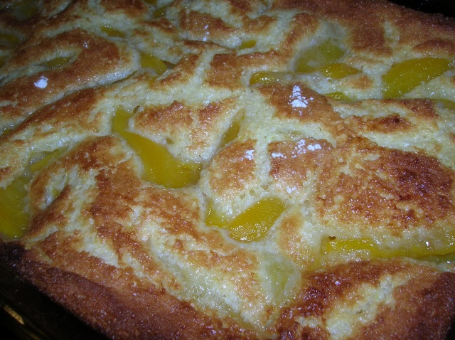 Peach Cobbler Cooking Italian Comfort Food